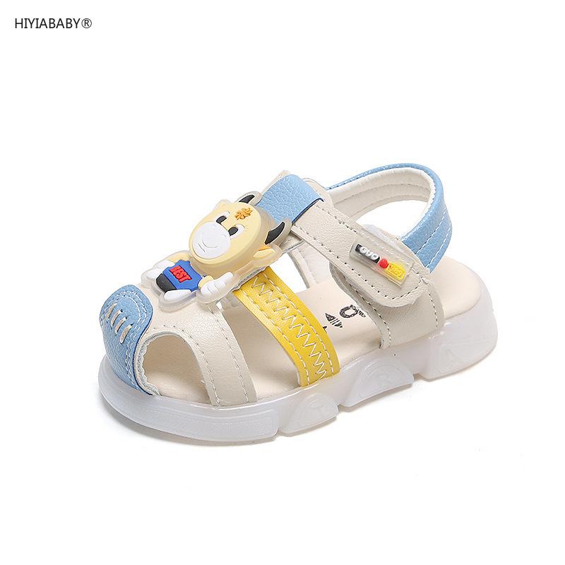 韓版嬰兒鞋 夏季寶寶學步涼鞋0-1-3歲軟底男女寶寶鞋