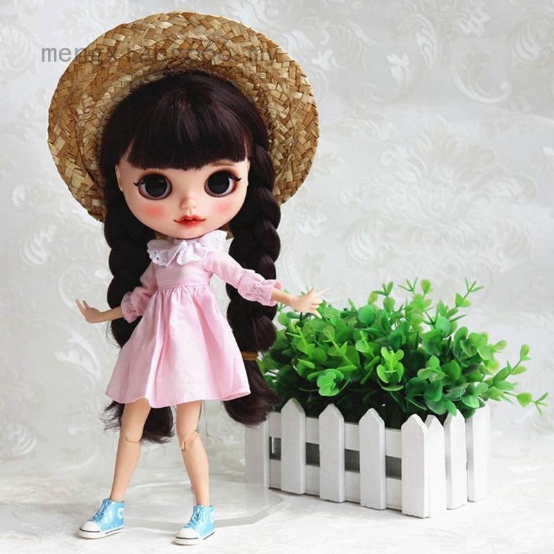 mengxiang666布萊斯娃娃普利普·達爾·傑瑞貝里娃娃創意玩物草帽玩具公仔配件