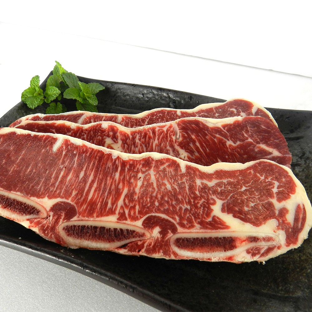 【買一送一】紐西蘭PS帶骨牛小排-100g/片