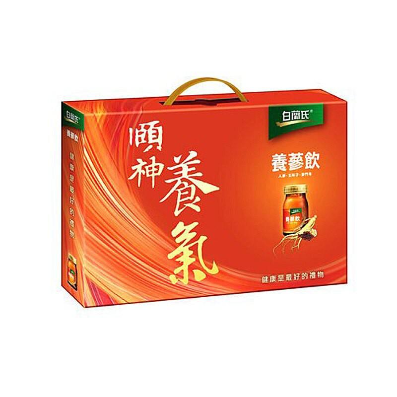 白蘭氏 養蔘飲 禮盒 60ml (8入)/盒【康鄰超市】