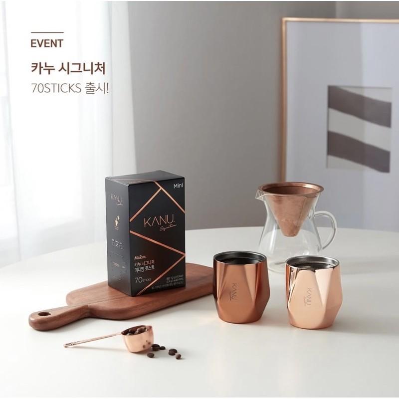 孔劉代言 KANU SIGNATURE mini 韓國咖啡 中焙 深焙 咖啡即溶包 KANU咖啡 代購