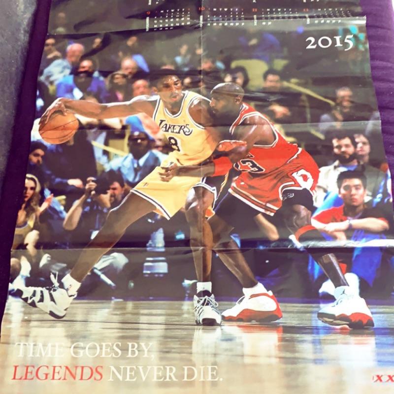 🐽【Kobe Bryant】海報|2015年曆|柯比|小飛俠|Michael Jordan|紀念收藏|送禮禮物