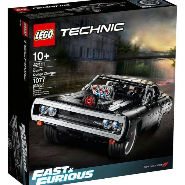 LEGO 42111 唐老大的道奇 Charger 全新