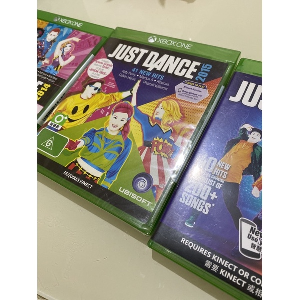 XBOX ONE 舞力全開 Just Dance 2014 2015 2017 Kinect體感