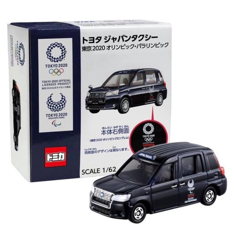 日本🇯🇵2020東京奧運 Tomica計程車 模型 紀念品