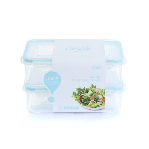 [LOVING HOME] 新鮮食物密封保鮮盒 800ml 2入 [韓國直送]
