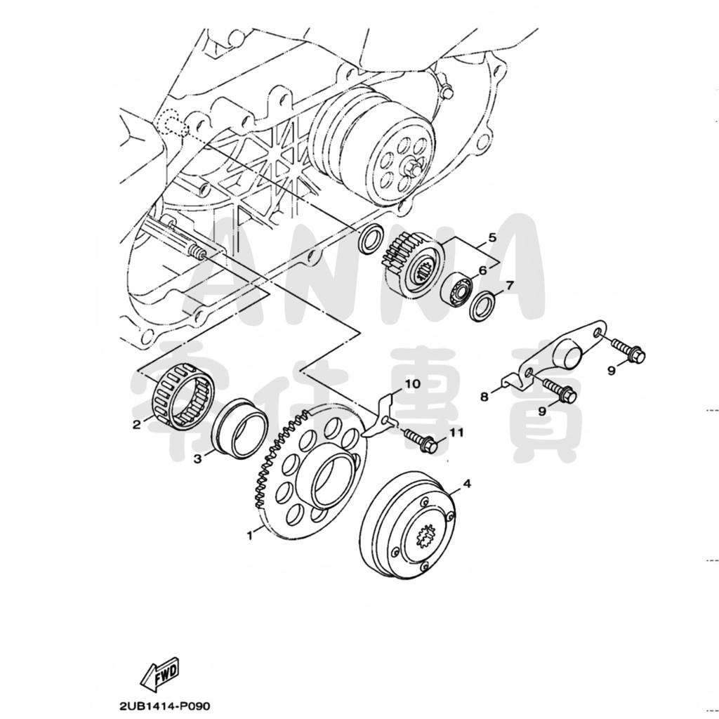 勁戰四代 勁戰五代 傳動類 Yamaha 原廠零件