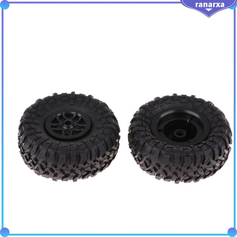 4x RC 1:12 D90 MN90 MN91的漂移汽車橡膠輪輪輞和輪胎輪胎
