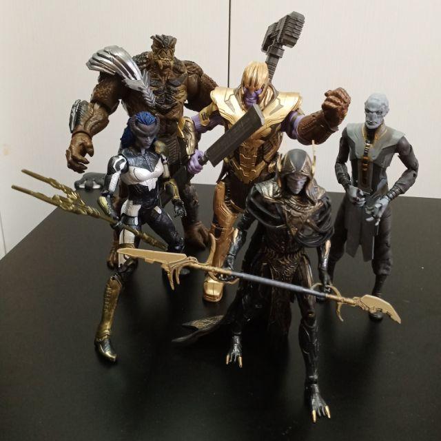 『致格殿』Marvel legends 暗黑號令 薩諾斯 黑矮星 暗夜比隣星 烏木侯 亡刃將軍 全新無盒 Hasbro