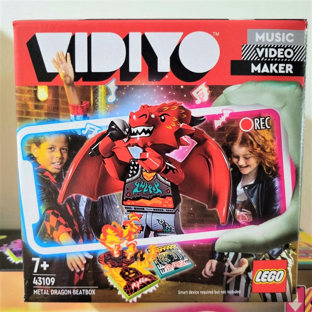 『Arthur樂高』現貨 LEGO VIDIYO 系列 43109 火龍