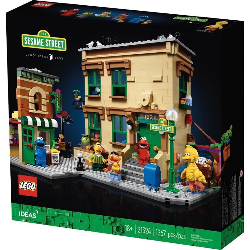樂高 LEGO IDEAS 21324 Sesame Street 芝麻街