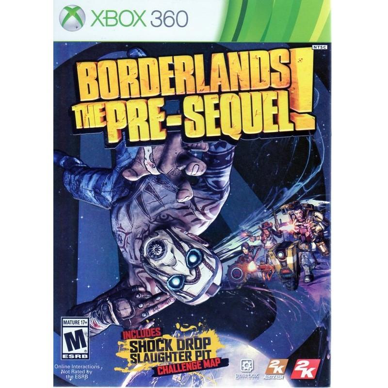 XBOX360遊戲 邊緣禁地 續集前傳 Borderlands The Pre-Sequel 英文版 附特典【魔力電玩】