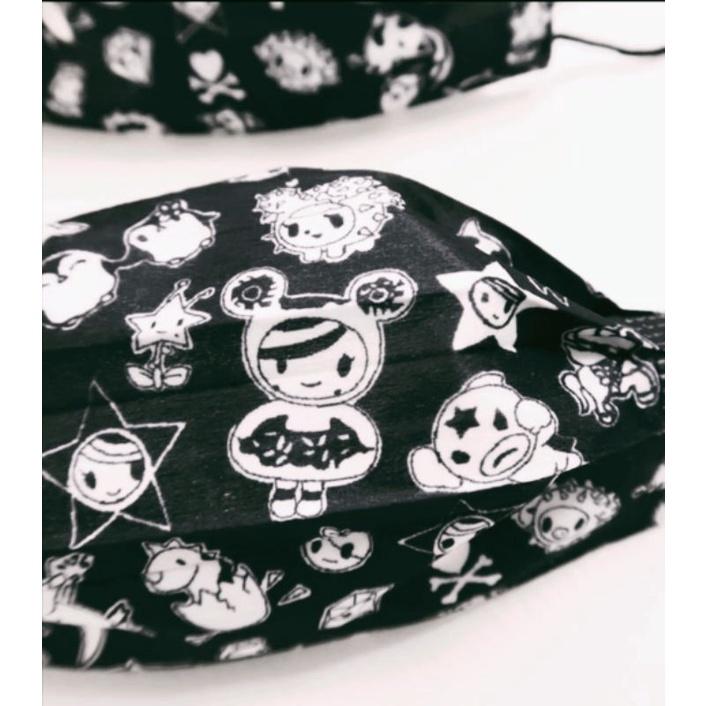 🔥現貨 熱賣🔥[ 多奇 口罩 ](黑色款) TOMKO TOKI  DOKI (非醫療用)成人款