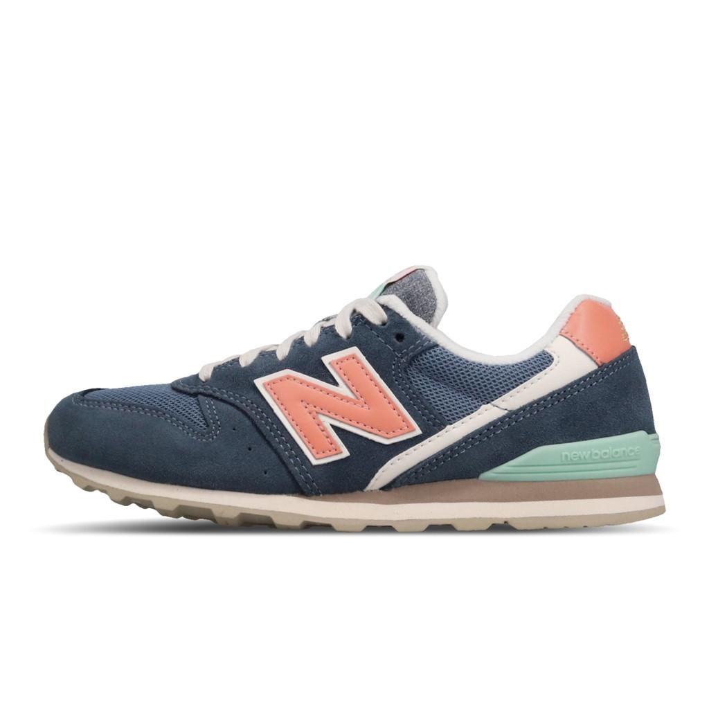 New Balance 休閒鞋 NB 996 藍 白 女鞋 復古慢跑鞋 運動鞋 麂皮 WL996COM B 【ACS】