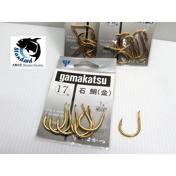 [NEMOSHOP] GAMAKATSU 石鯛(金)鉤 #石鯛鉤#大物鉤