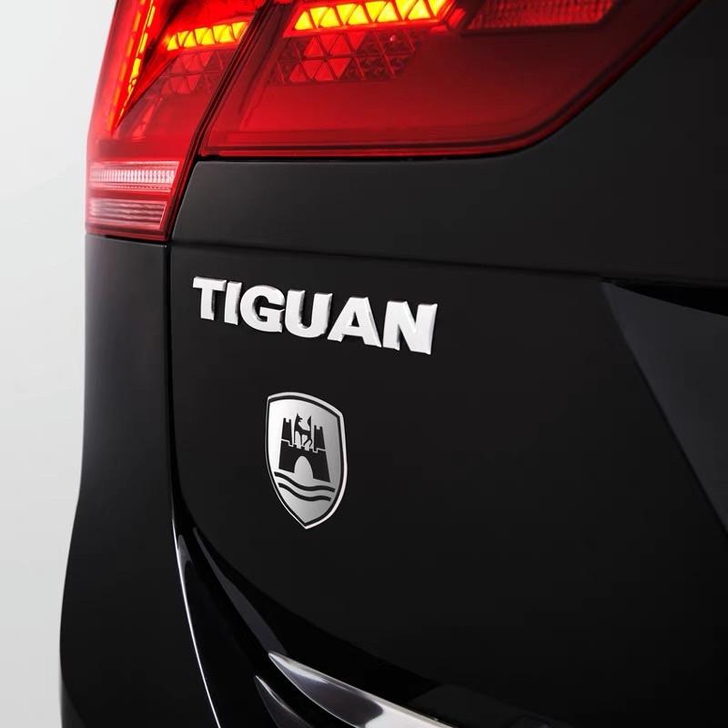 福斯原廠 狼堡車標 貼紙 狼堡勳徽貼 原廠件 德國🇩🇪生產Golf Tiguan Passat Polo T-ROC