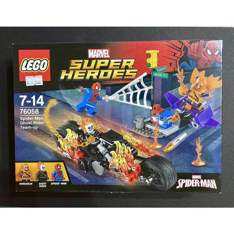 樂高 lego 76058 漫威惡靈戰警 蜘蛛人 全新未拆