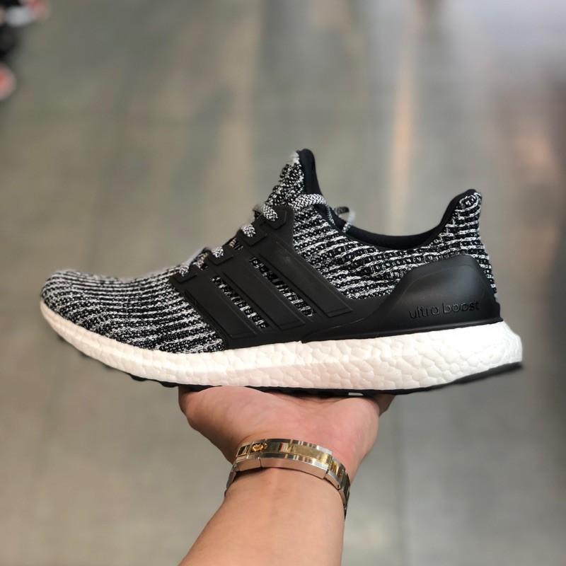 low priced 564b9 0d577 潮牌小屋Adidas Ultra Boost 4.0 Oreo 配色 愛迪達 BB6179 灰黑色 編織慢跑