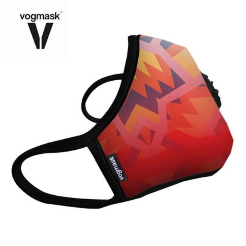 美國Vogmask防霧霾N99級帶閥成人口罩女L號高於N95
