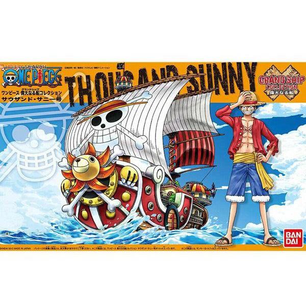 星矢TOY 板橋實體店面 組裝模型 萬代 BANDAI ONE PIECE 航海王 偉大的小船 千陽號