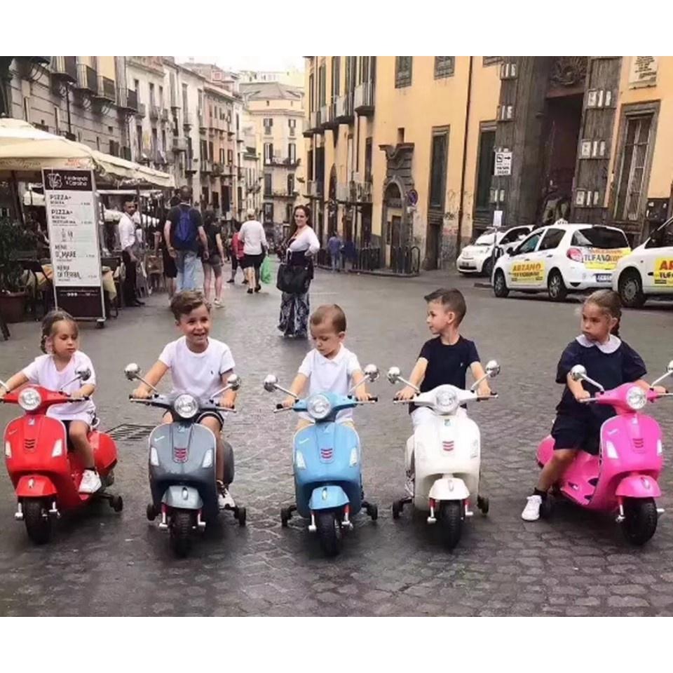 【寶貝玩具正牌】Vespa946維斯帕原廠正品兒童電動車充電童車摩托車玩具禮物男女童