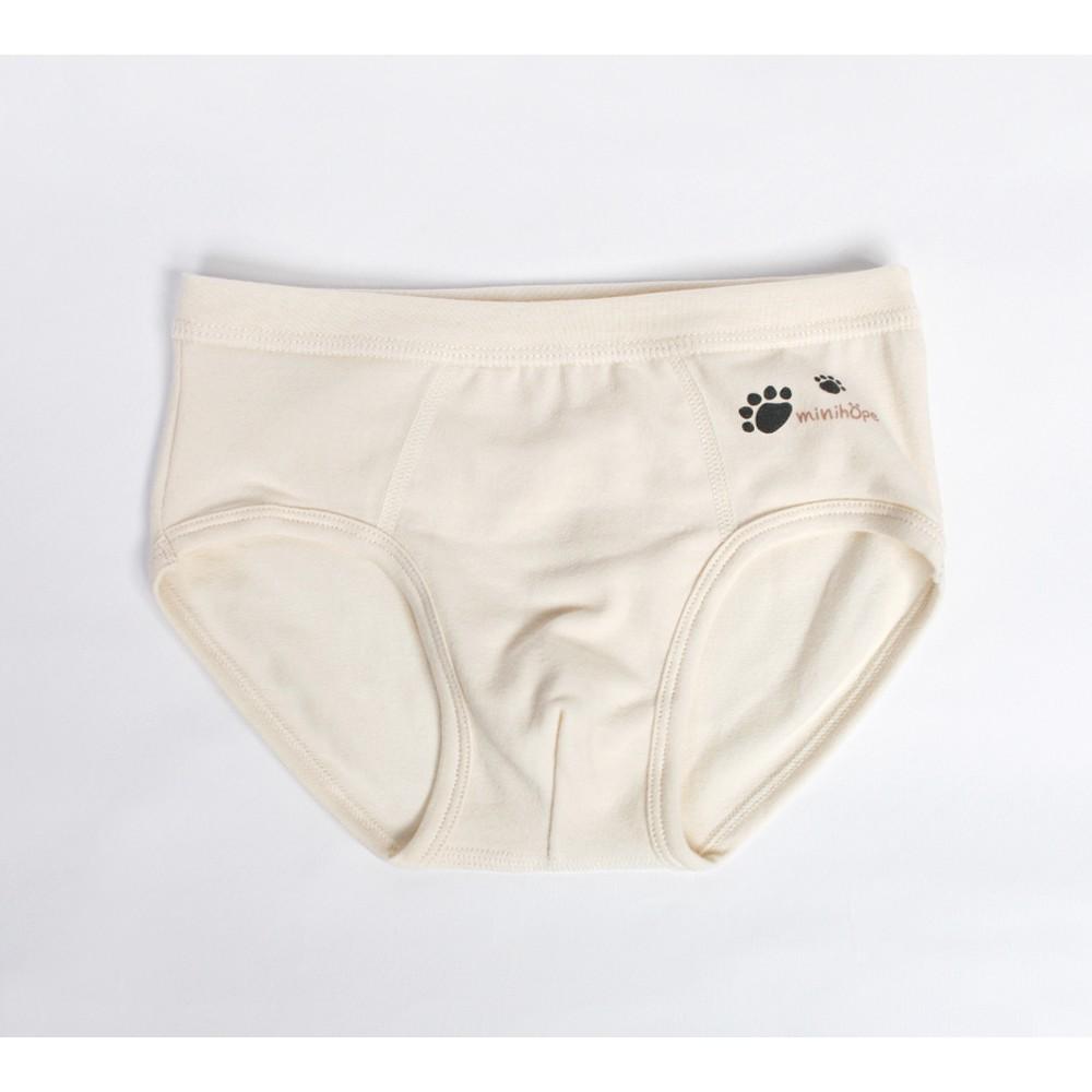 ★台灣製★HELLO!mini bear熊腳印男童三角褲(13kg~40kg)