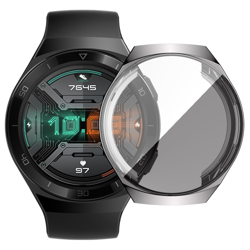 華為GT2e 手錶的新款TPU錶殼 GT2e 電鍍 全包屏幕保護貼保護套