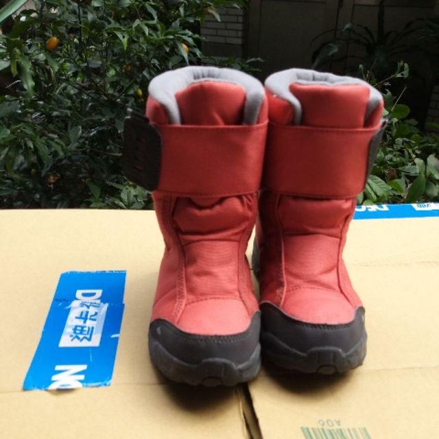 兒童雪鞋 雪靴 防水。迪卡儂尺碼 30。