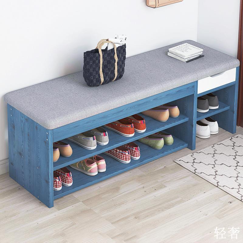 【熱銷】代發換鞋凳家用小板凳進門穿鞋凳可坐式鞋柜鞋架床尾沙發凳長條凳
