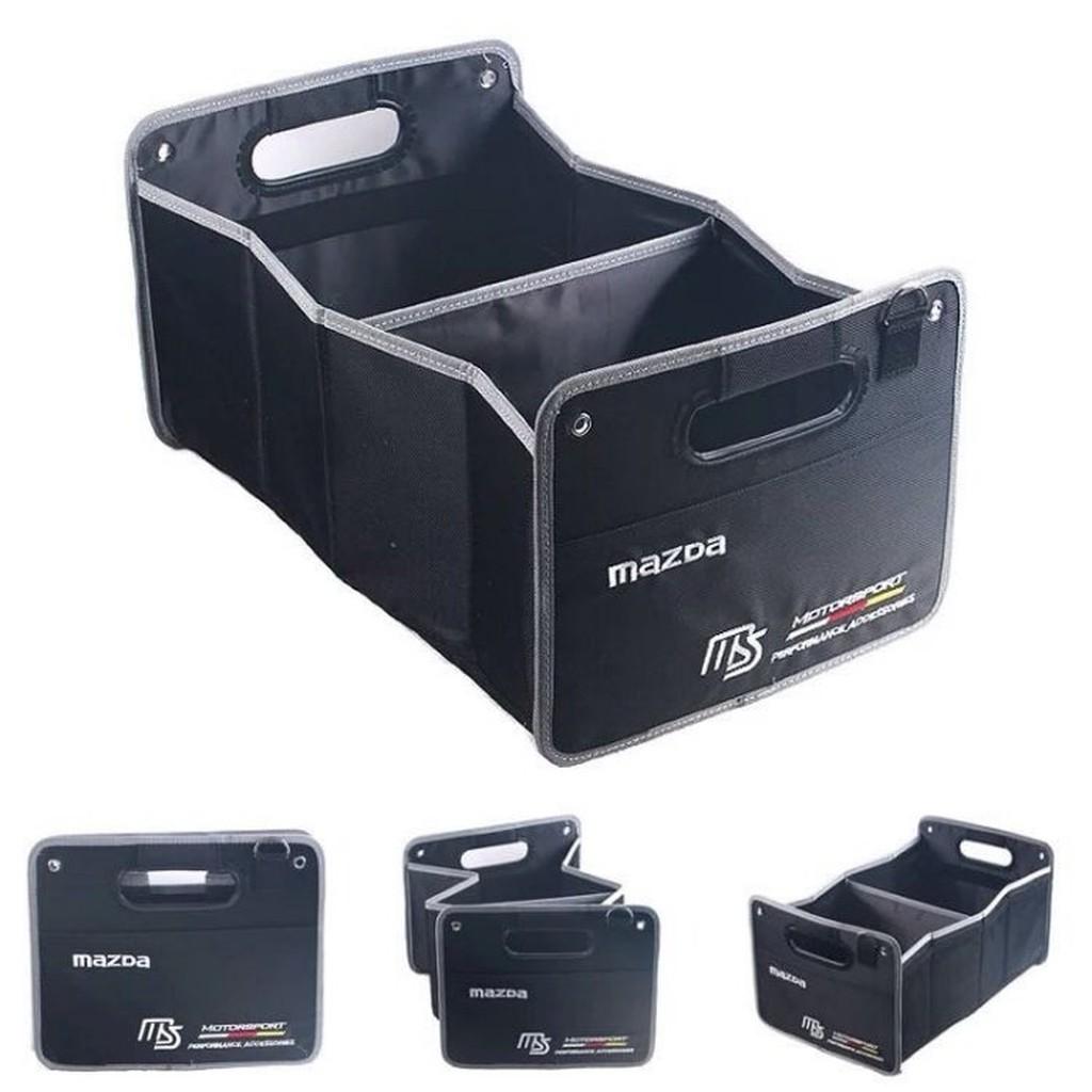 bmw置物箱 bmw mpower運動款X1 X3 X5 X6 3系5系7系汽車後尾箱車用儲物盒 折疊收納箱 後行李箱