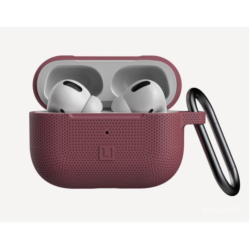 適用AIRPODS PRO 1/2  UAG 小圓點連體硅膠耳機保護套 DOT軟殼