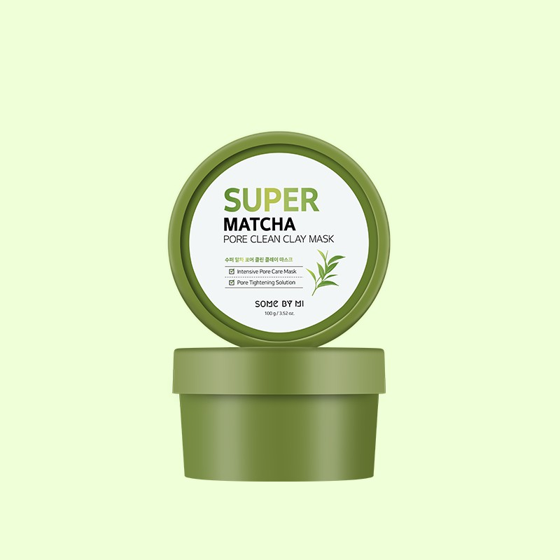 [SOMEBYMI] 超級抹茶毛孔清潔泥膜 (100g)