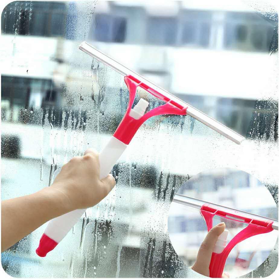 ▼♛玻璃清潔器擦窗器玻璃刮子瓷磚清潔刮硅膠刮玻璃擦噴霧窗刷桌面刮pdd