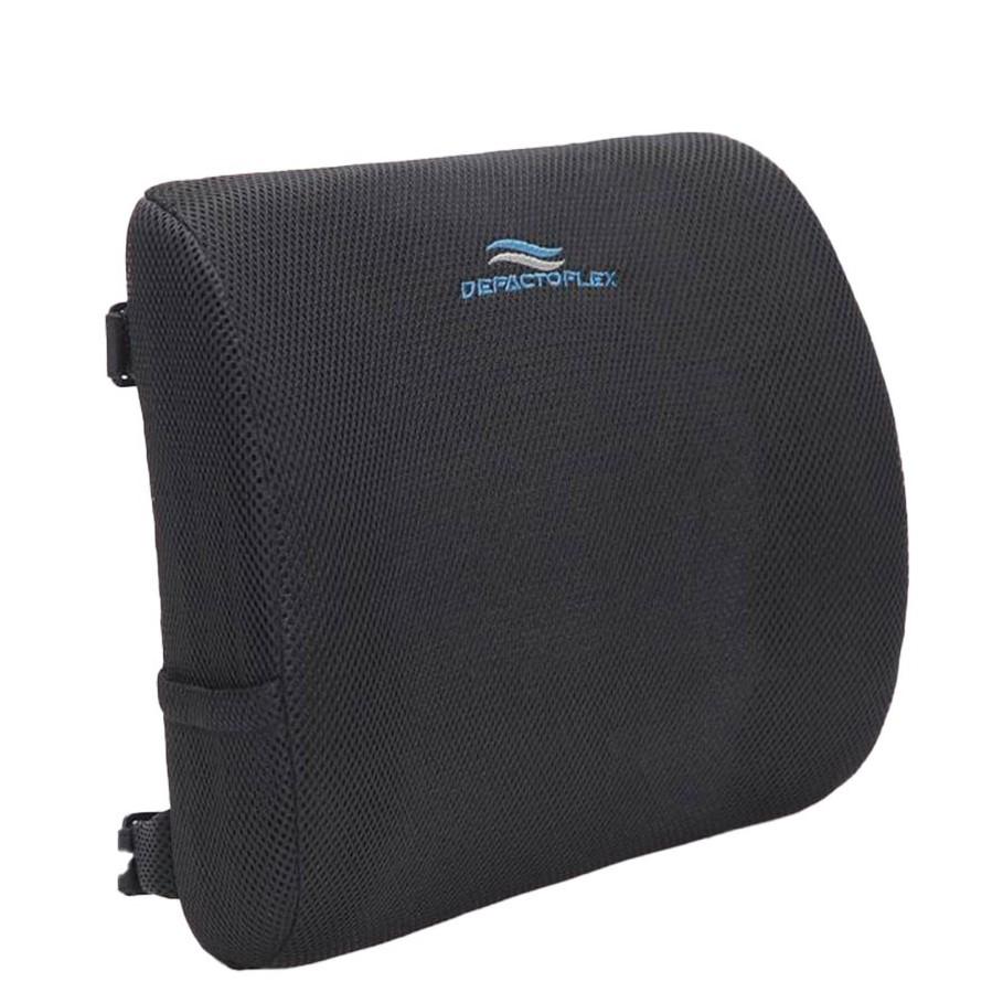(附提袋)3D網眼記憶護腰靠墊 人體工學 可折疊 汽車靠墊 車用 靠枕 腰靠 辦公椅靠 網面 透氣 記憶枕 靠腰 靠背