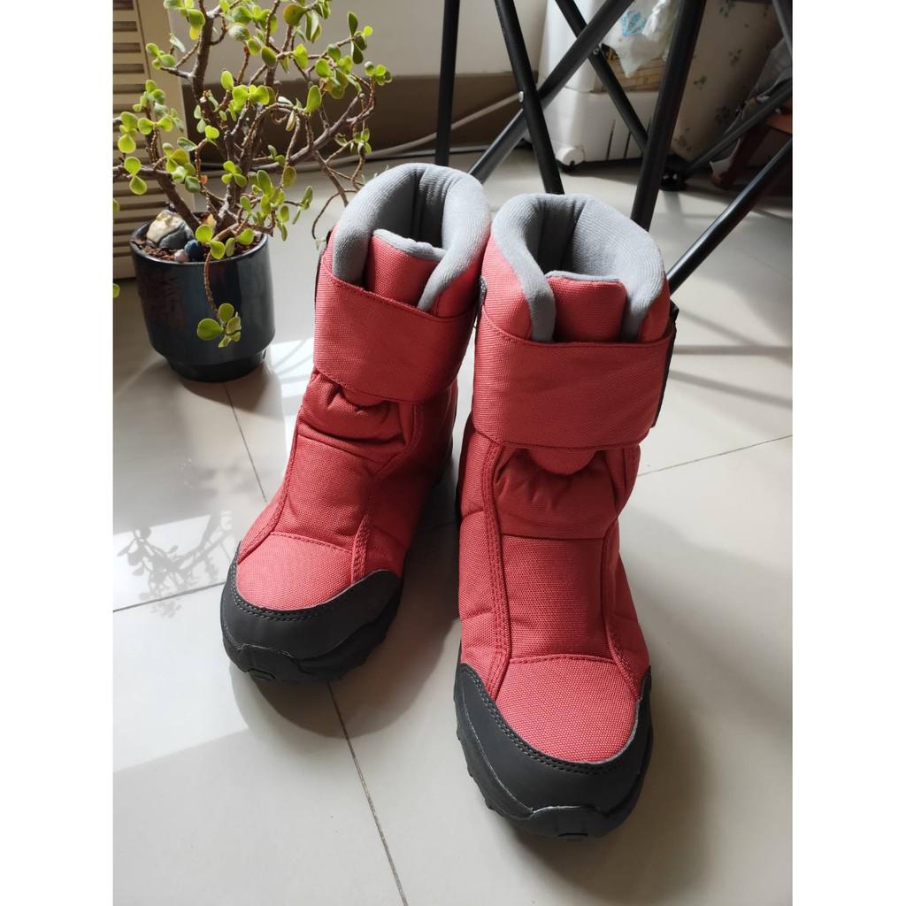 [阿凌凌的賣場]5003-桃色迪卡儂-雪鞋