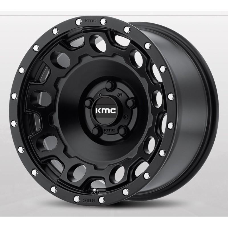 高雄人人輪胎 KMC WHEELS KM529 HOLESHOT 17吋 鋁圈 5孔 114.3 120 越野框 載重框