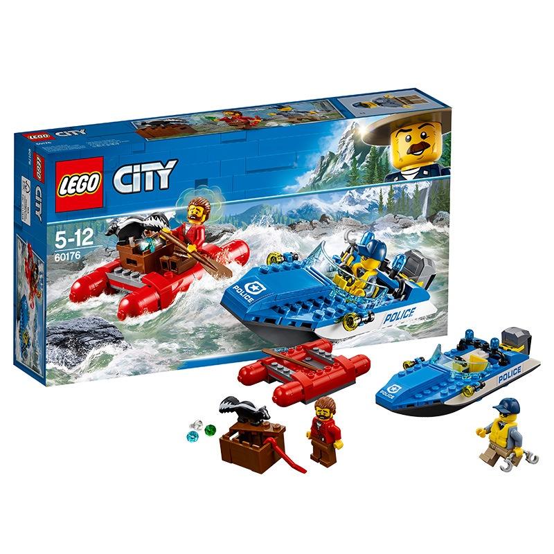 【現貨免運】正版LEGO樂高✨城市系列✨60176激流追擊✨LEGO City小顆粒積木玩具✨
