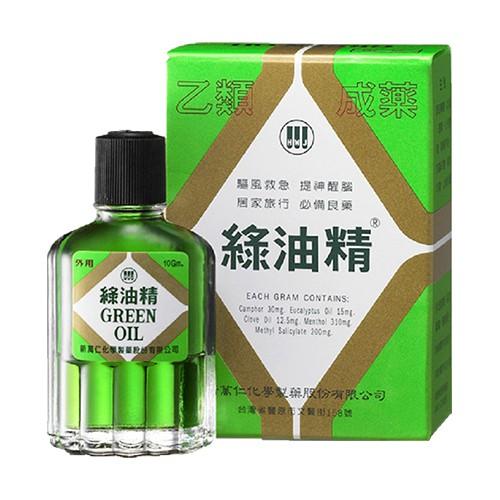 綠油精 10g【躍獅連鎖藥局】