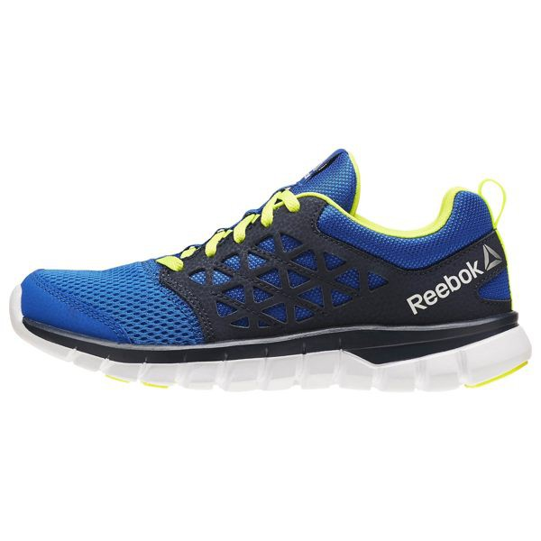 REEBOK SUBLITE XT CUSHION 2.0 女鞋 慢跑 網布 緩震 藍 黑【運動世界】BD5649