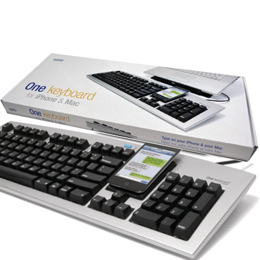 Matias USB/藍芽 二合一 中文鍵盤 One Keyboard Mac專用