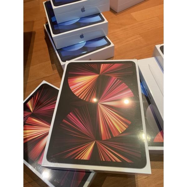 iPad Pro M1 128G/256G/512G 11吋/12.9吋可加購apple pencil2、鍵盤