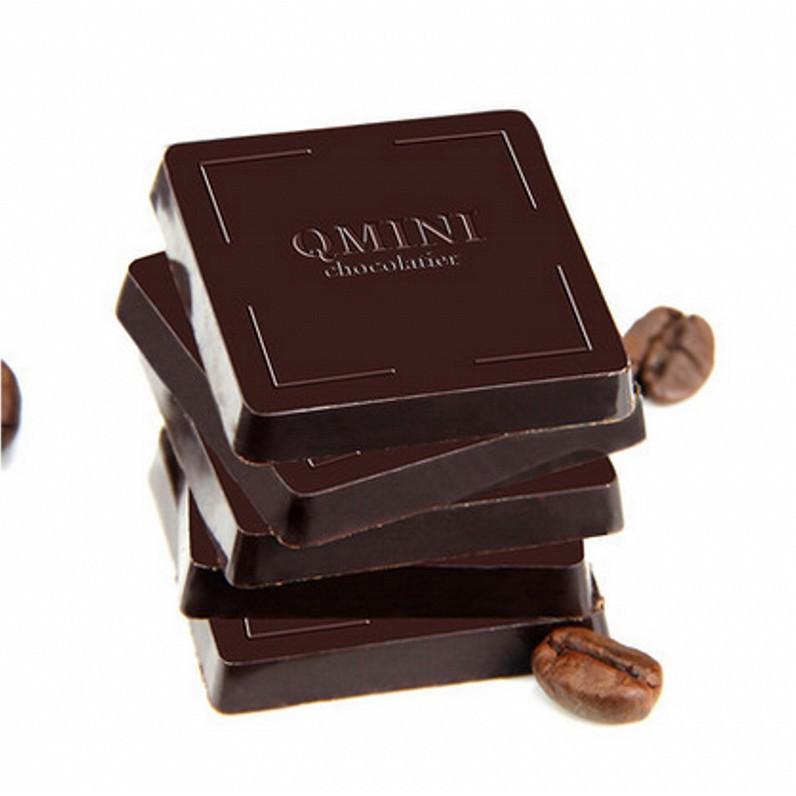 年貨節100%無糖純黑巧克力QMINI散裝批發 禮盒裝禮物送女友休閑零食品月宮