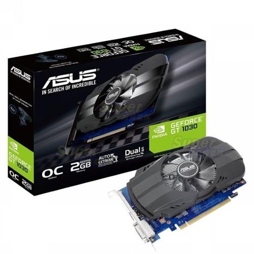 ASUS 華碩 PH-GT1030-O2G 顯卡 GT 1030 2GB DDR5超頻鳳凰版 顯示卡 IP5X 認證風扇
