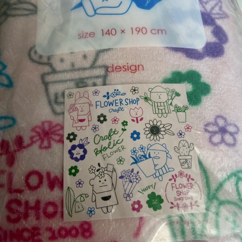 日本 CRAFTHOLIC 宇宙人毛毯(L)