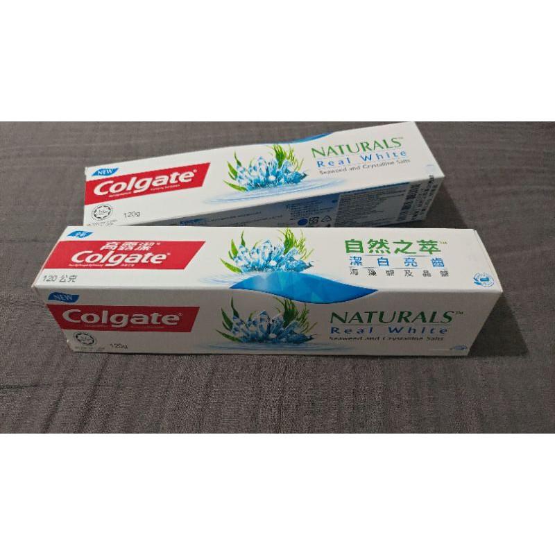 高露潔 自然之萃潔白亮齒牙膏 120g