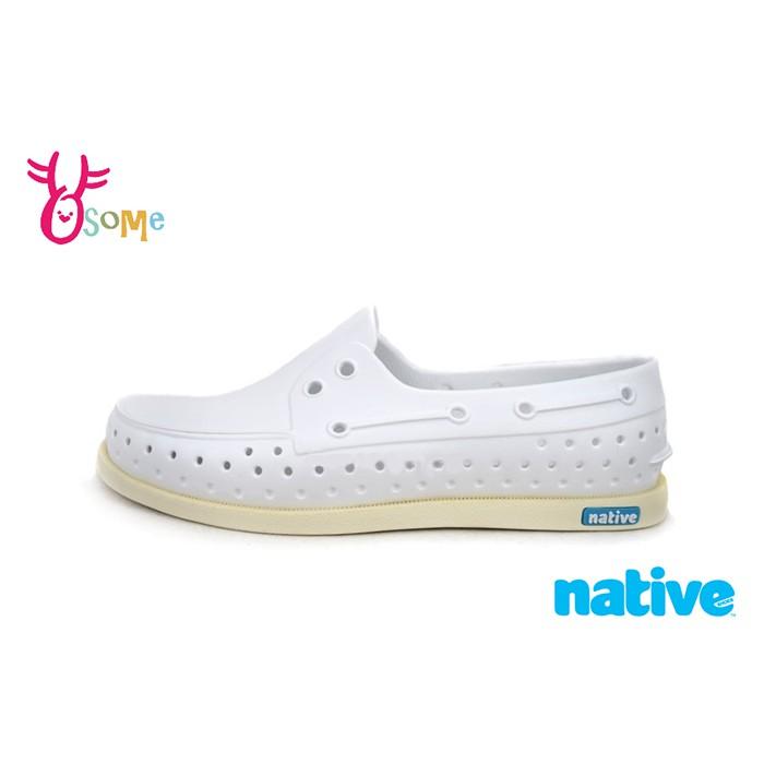 Native HOWARD帆船鞋 男女款 休閒鞋 白鞋 I9432 OSOME奧森鞋業