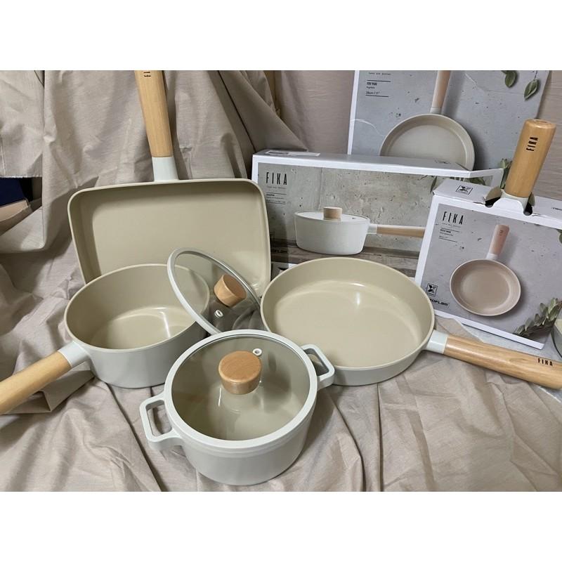 現貨 韓國NEOFLAM FIKA 鍋具 炒鍋 湯鍋 鍋子 陶瓷不沾鍋 鍋蓋