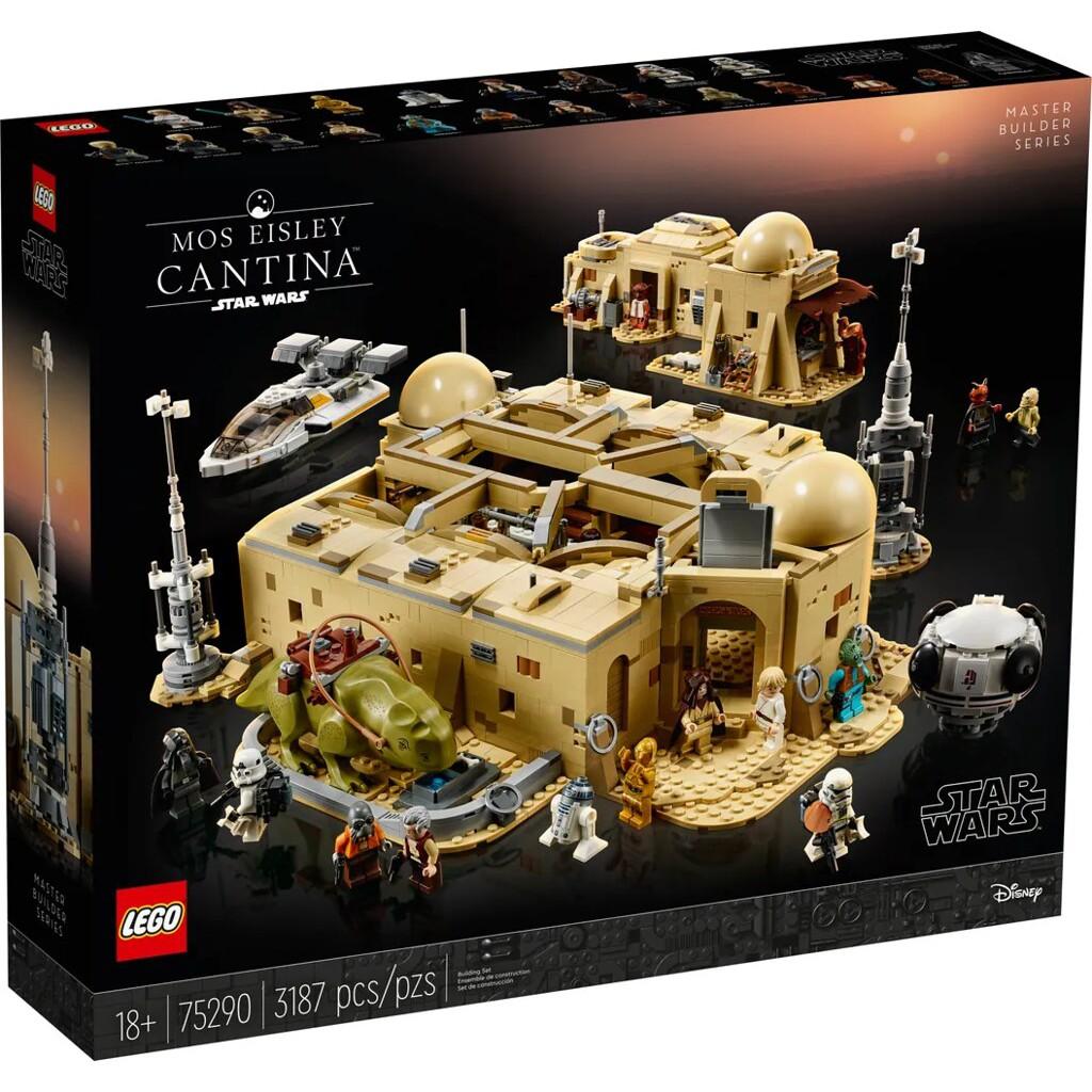 [玩樂高手附發票]公司貨 樂高 LEGO 75290 Mos Eisley Cantina