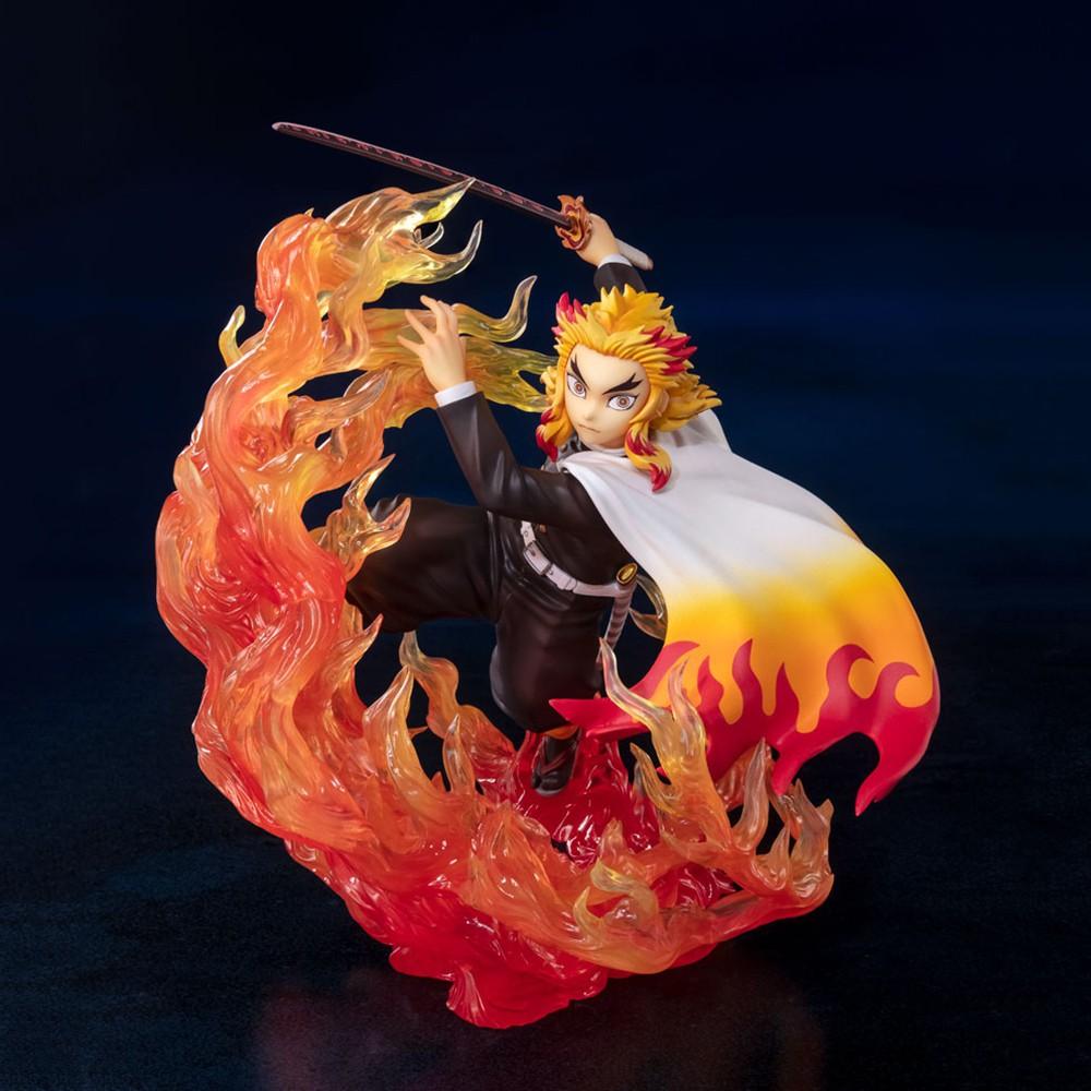 【BANDAI】代理版 Figuarts ZERO 鬼滅之刃 炎之呼吸 煉獄杏壽郎 炎柱 無限列車