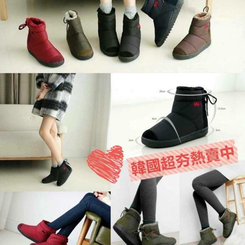 韓國超夯小皇冠雪靴
